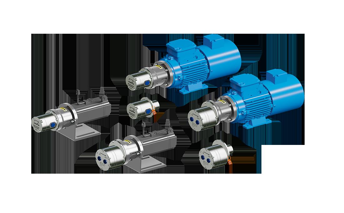 MRC系列微型齿轮泵 / 中等流量型